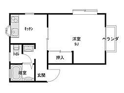 ダイセンアパートA[102号室]の間取り