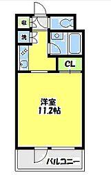 ダイナシティ湘南台[3階]の間取り