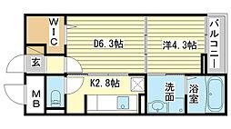 御着駅 4.8万円
