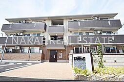 徳島県徳島市沖浜町居屋敷の賃貸アパートの外観