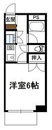 フォルム宮崎駅南[402号号室]の間取り