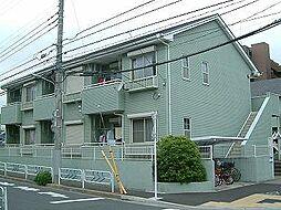 東京都江戸川区南葛西5丁目の賃貸アパートの外観