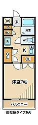 東京都府中市住吉町3丁目の賃貸マンションの間取り