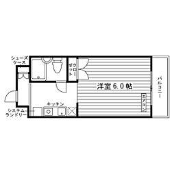 神奈川県相模原市南区上鶴間本町2丁目の賃貸マンションの間取り