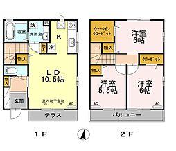 中央線 東小金井駅 徒歩18分