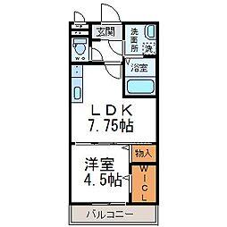 ロイヤルメゾン[3階]の間取り