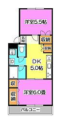 パークヒル航空公園[3階]の間取り