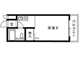 阪神本線 御影駅 5階建[203号室]の間取り