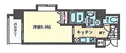 アンシャ−ル[801号室]の間取り