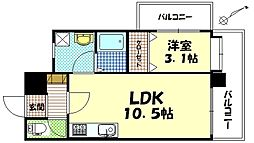 SEIWA BLD[6階]の間取り