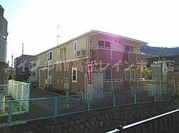 香川県高松市宮脇町1の賃貸アパートの外観