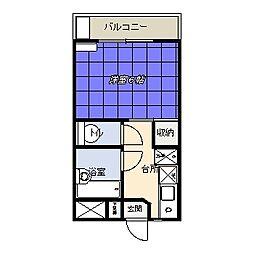第12増尾ビル(北坂戸学生会館)[207号室]の間取り