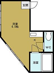 九条三伸ビル[3階]の間取り