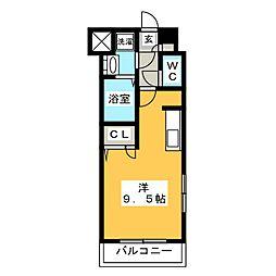 アクアシティ博多サウスステーション[4階]の間取り