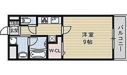 大阪府吹田市内本町1丁目の賃貸マンションの間取り