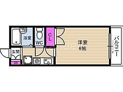 ソレーユフタバ[5階]の間取り