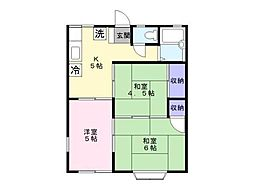 ルミエール湘南 ステージ4[1階]の間取り