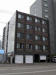 北海道札幌市北区北十三条西2丁目の賃貸マンションの外観
