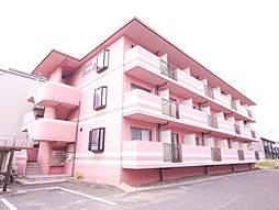 岡山県岡山市北区田中の賃貸マンションの外観