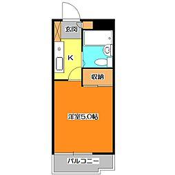 PLENDY清瀬[2階]の間取り