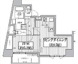 東京都文京区目白台2丁目の賃貸マンションの間取り