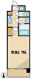 ドゥーエ蒲田 bt[308kk号室]の間取り