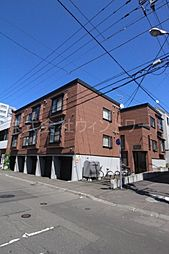 北海道札幌市中央区南五条西13丁目の賃貸アパートの外観