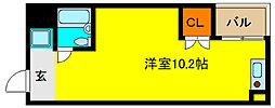 サニーサイド吉田駅前[3階]の間取り