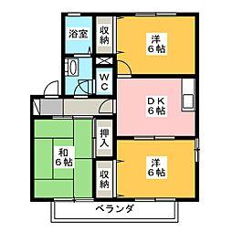 アネックス[2階]の間取り