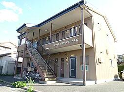 静岡県浜松市東区大瀬町の賃貸アパートの外観