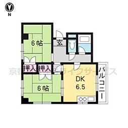HOUSE S&Y[407号室]の間取り