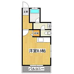 サンフラワー二の宮[2階]の間取り