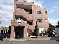 茨城県牛久市上柏田4丁目の賃貸マンションの外観