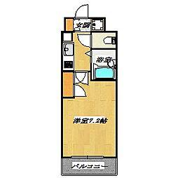Muse Nakakasai[805号室]の間取り