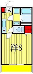 プリズム8番館[3階]の間取り