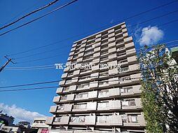 栃木県宇都宮市栄町の賃貸マンションの外観