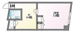 ヴィラナリー大和田[2階]の間取り
