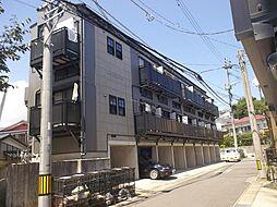 長崎県長崎市三芳町の賃貸アパートの外観