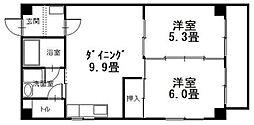 広島県呉市広文化町の賃貸アパートの間取り