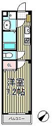 アンプルールフェール大船[3階]の間取り
