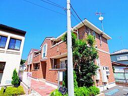 東京都西東京市下保谷4丁目の賃貸アパートの外観