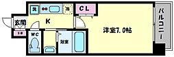 TOYOTOMI STAY PREMIUM ABENO天王寺(トヨトミステイプレミアムア 2階1Kの間取り