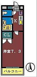 T・Sビューハイム[301号室]の間取り