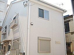 東京都足立区梅田3丁目の賃貸アパートの外観