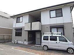 兵庫県姫路市広畑区蒲田4丁目の賃貸アパートの外観