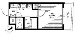 ステージファースト高輪[3階]の間取り