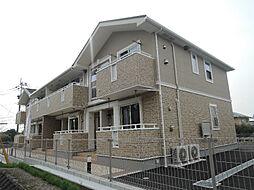 福岡県北九州市八幡西区上上津役5の賃貸アパートの外観