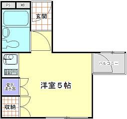T-COOT2階Fの間取り画像