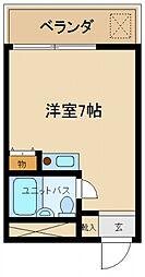 サニーハイツマツモト[3階]の間取り