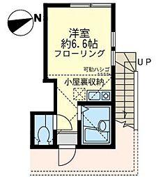 CASA川崎大師[2階]の間取り